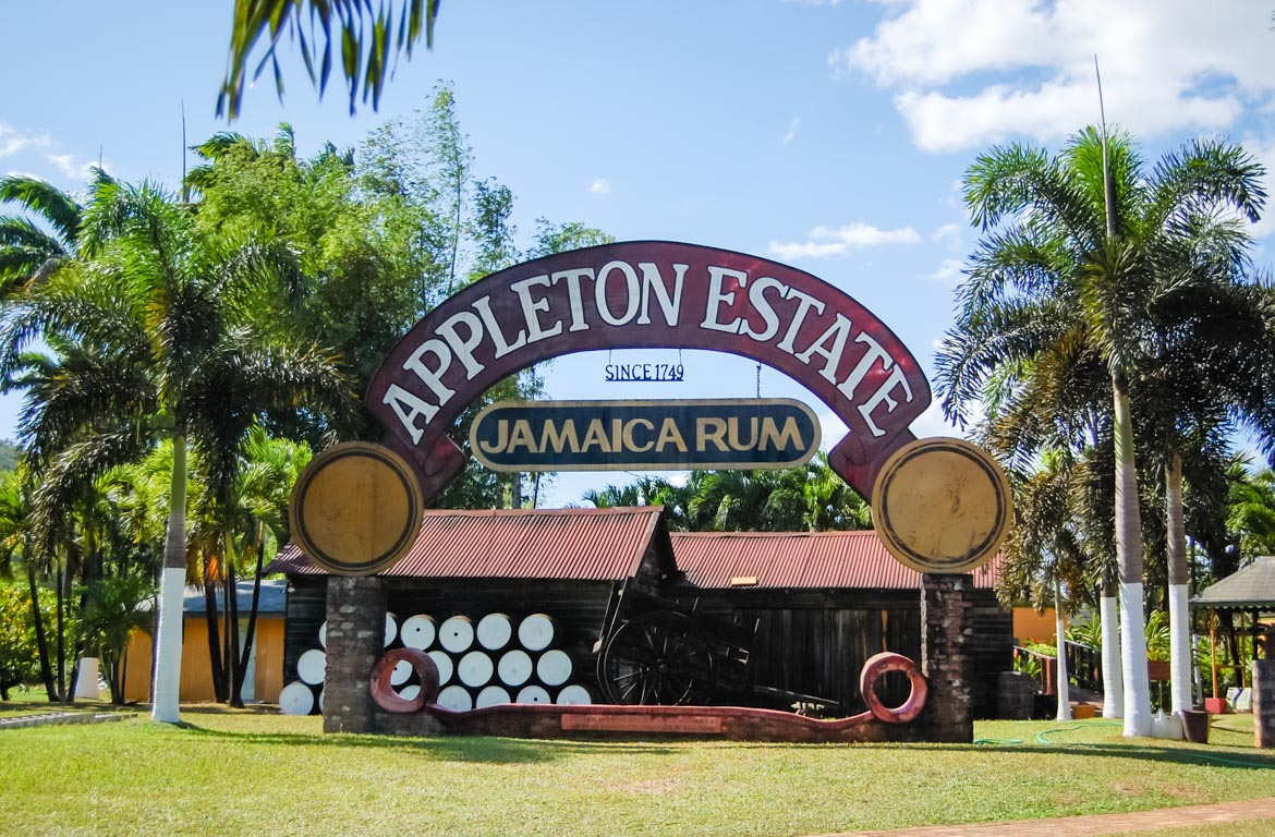 Destilaria do Rum Appleton, Jamaica