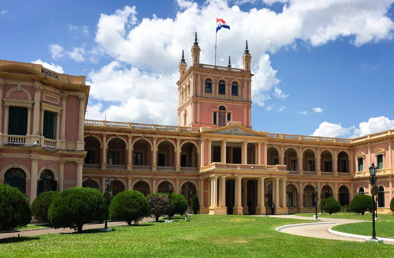 Palácio presidencial, Assunção, Paraguai