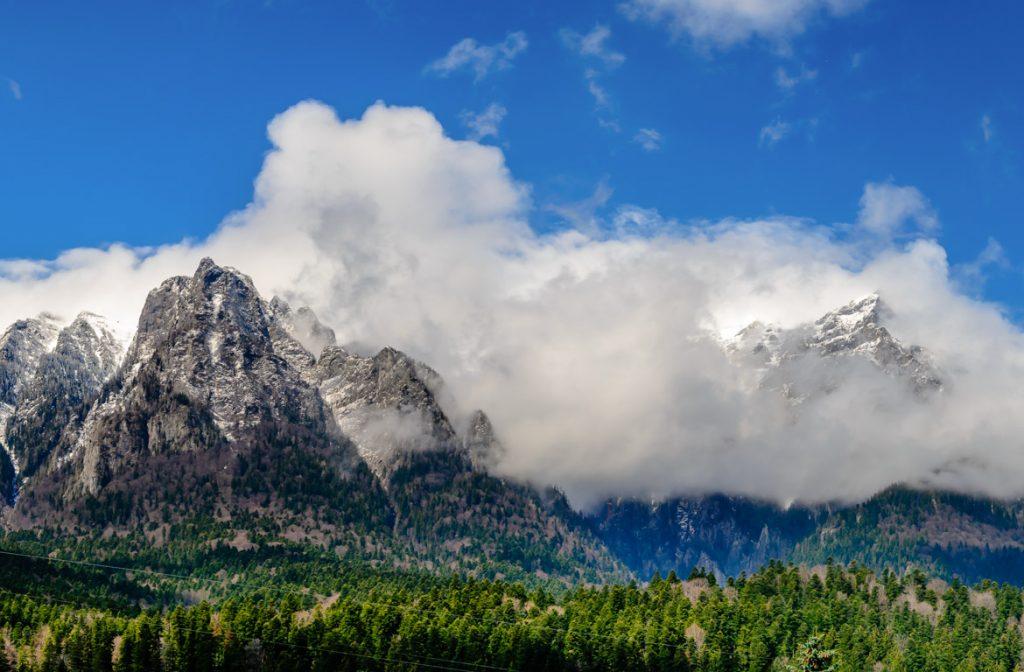 Montes Cárpatos, Roménia