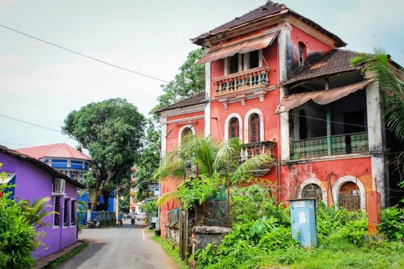 Fontainhas, Pangim Goa, na Índia
