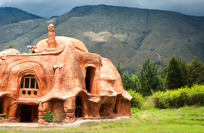 Arquitectura em Villa de Leyva, Colômbia