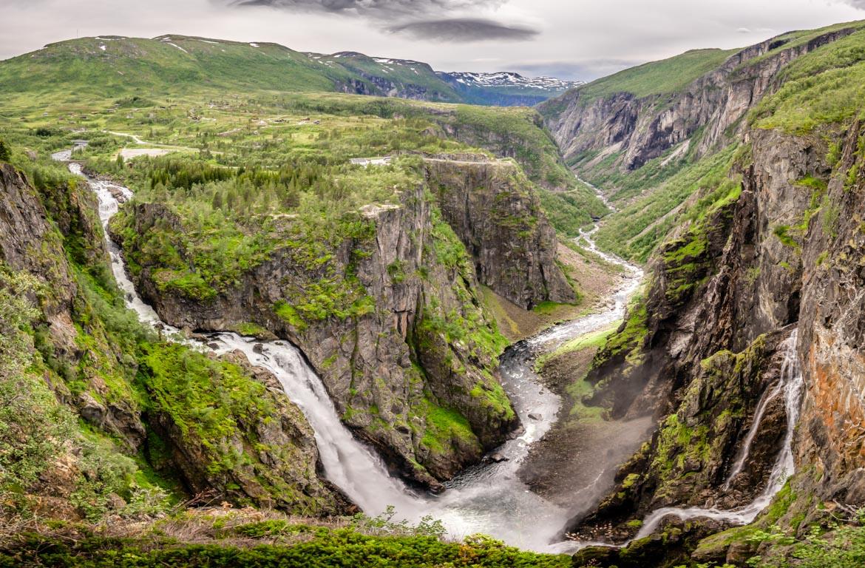 Queda d'água Voringsfossen, Noruega