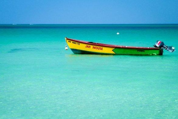 Seven Mile Beach em Negril, Jamaica