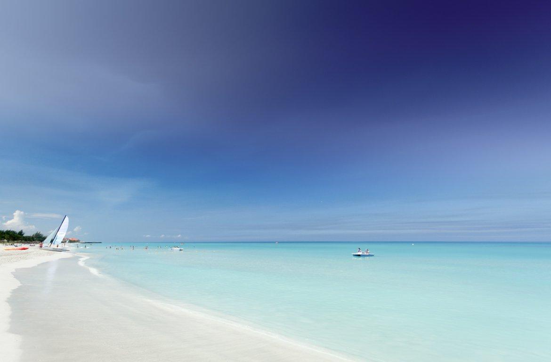 Praia de Varadero em Cuba