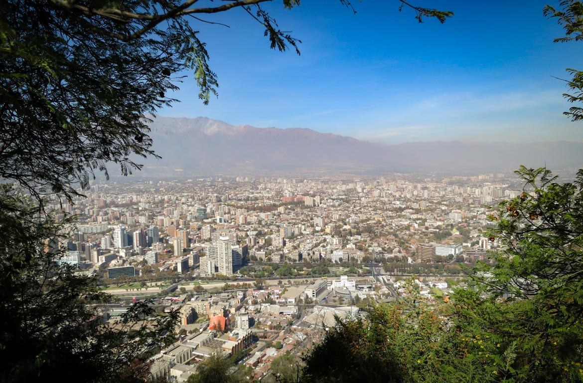 Cerro San Cristóbal, Santiago do Chile