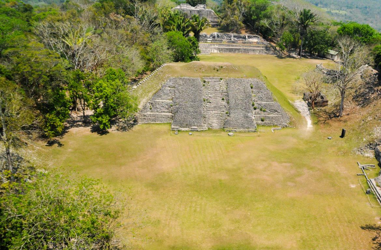 Xunantunich, pirâmide de El Castillo no Belize