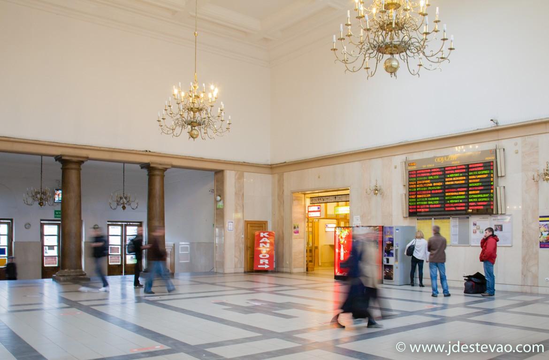 Estação central de comboios de Cracóvia, Polónia