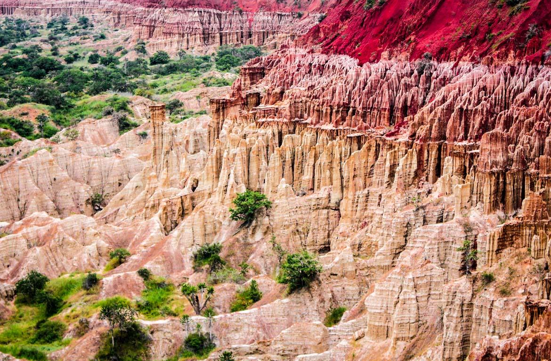 Parque Nacional da Kissama, no Oeste de Angola