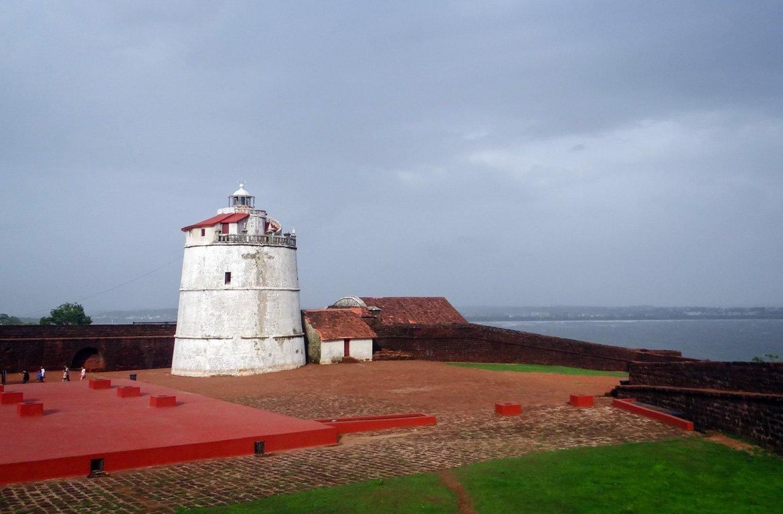 Farol, Fortaleza da Aguada, Goa, Índia