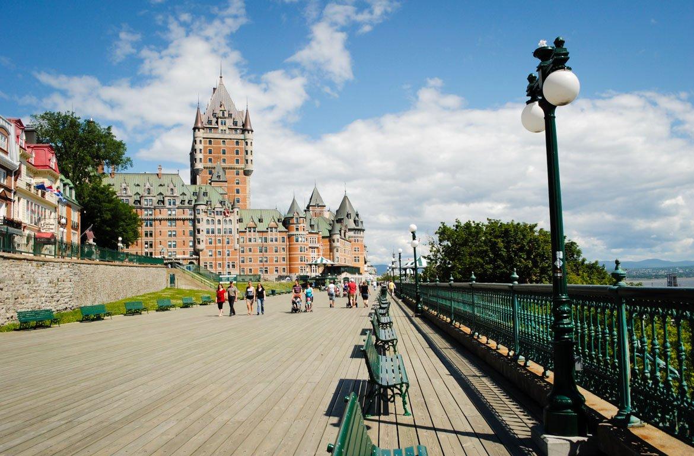 Verão em frontenac, Quebec, canadá