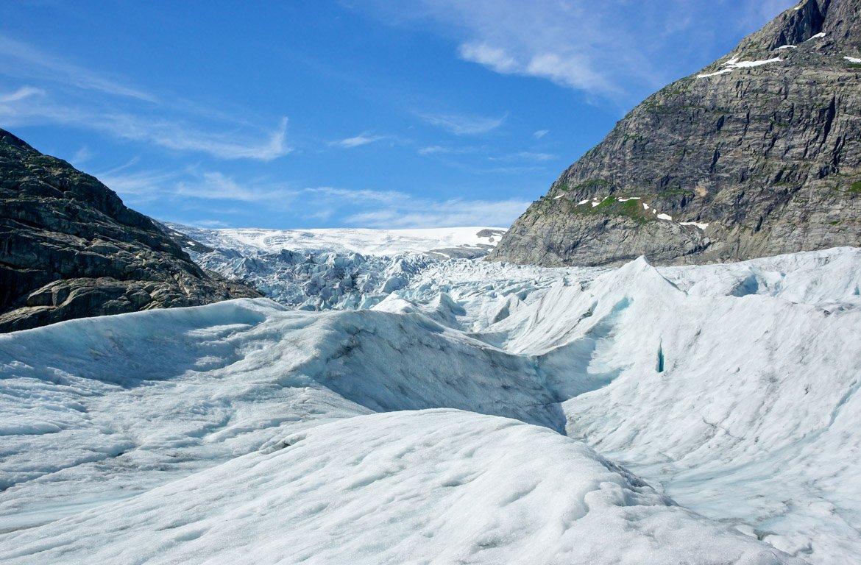Glaciar de Jostedal, Noruega