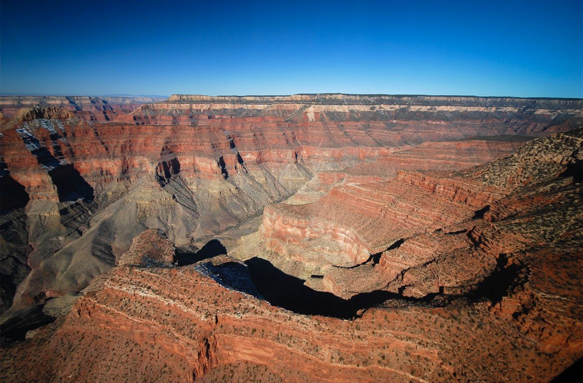 Grand Canyon, no estado do Arizona, Estados Unidos da América