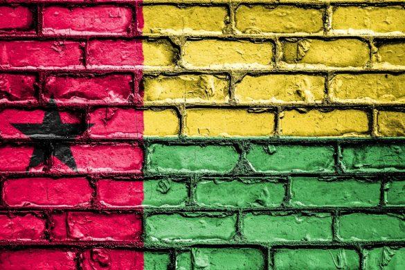 Bandeira da Guiné-Bissau.