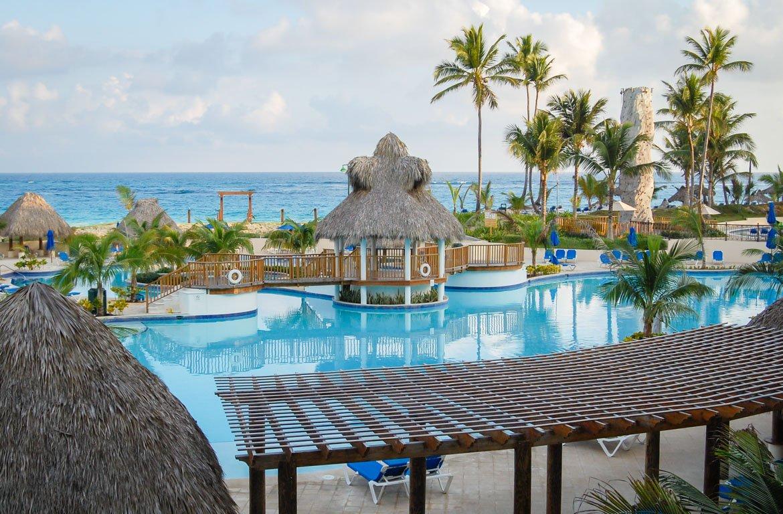 Resort de praia em Punta Cana, na República Dominicana