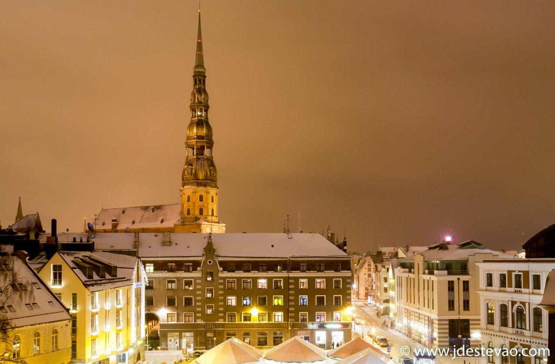 Igreja de São Pedro, em Riga, Letónia