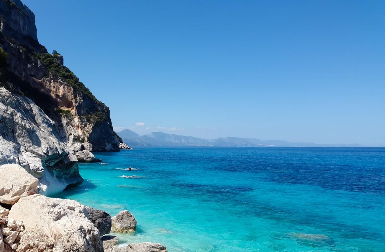 Praia Cala Goloritze, Sardenha, em Itália