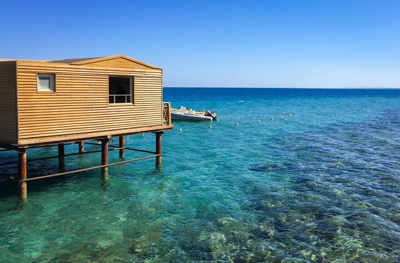 Bungalow em Hurghada, no Mar Vermelho, Egipto.