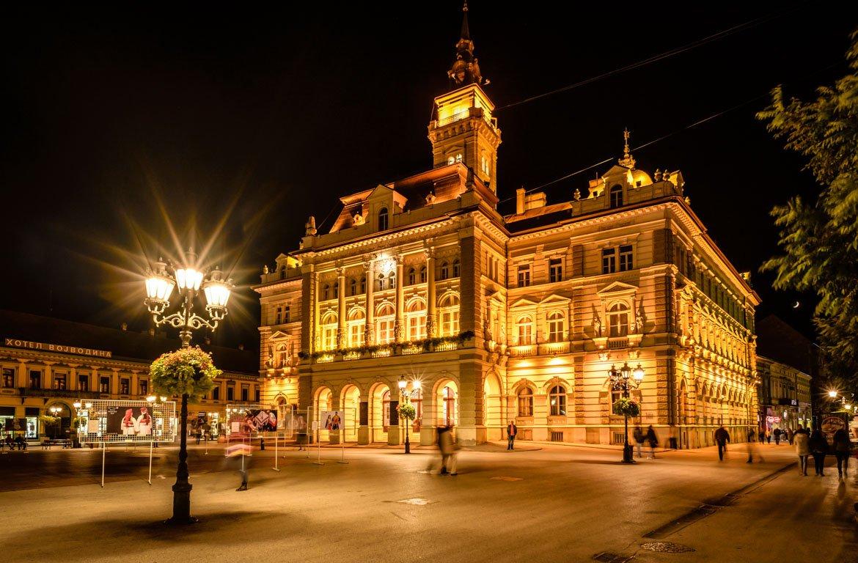 Centro histórico de Novi Sad, Sérvia
