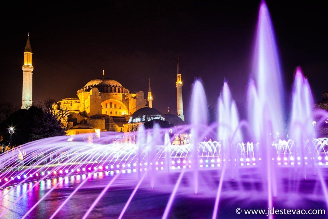 Hagia Sophia em Istambul, Turquia.