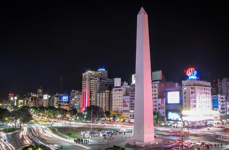 Obelisco em Buenos Aires, Argentina
