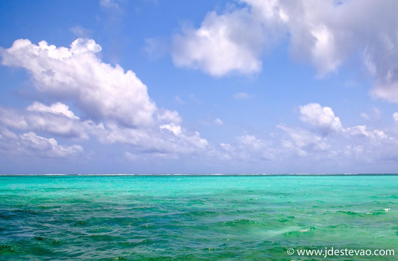 Cais em Cayo Ambergris (Ambergris Caye), Belize