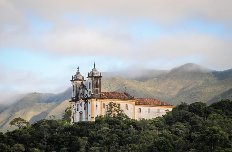 Igreja em Ouro Preto, Brasil