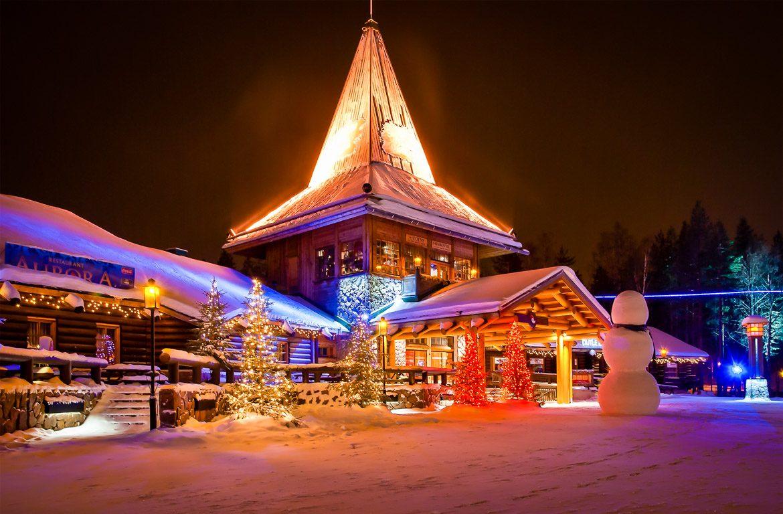 Natal em Rovaniemi, Finlândia