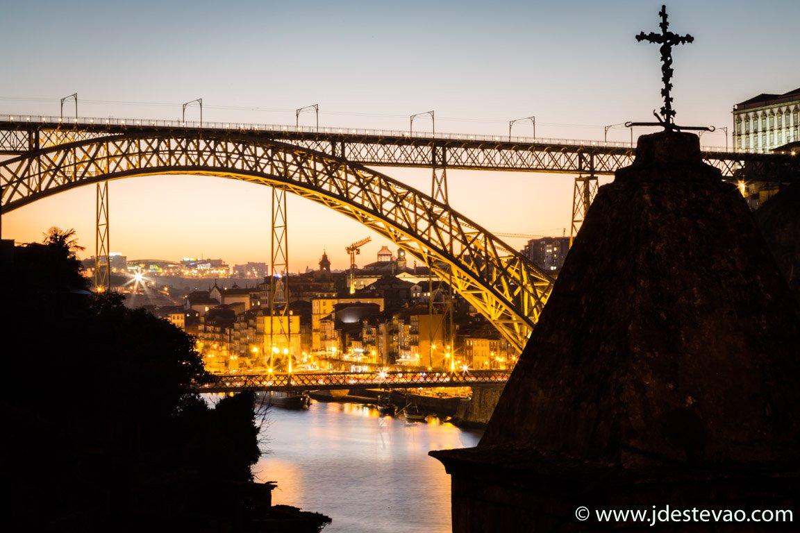 Ponte Dom Luís, Porto, Portugal