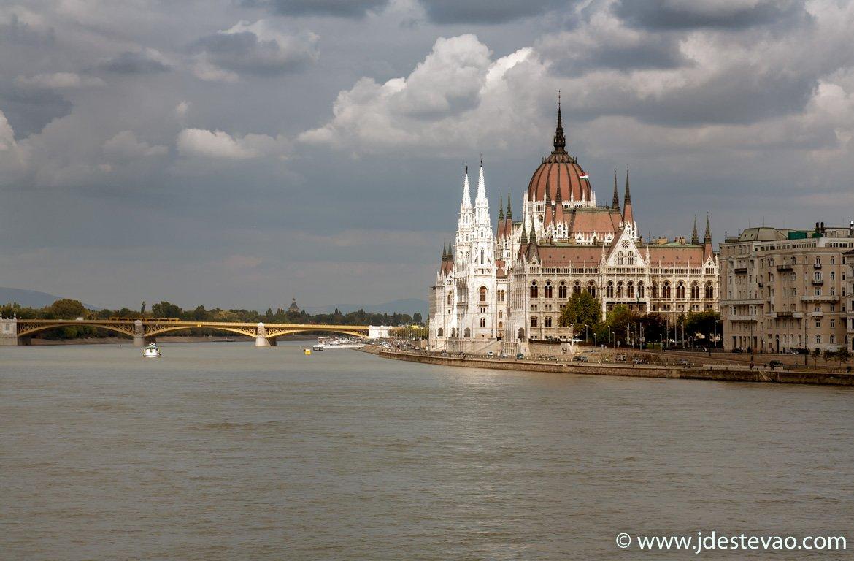Edifício do Parlamento, em Budapeste, na capital da Hungria