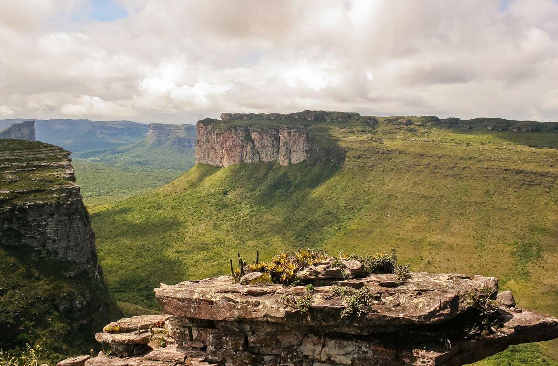 Parque Nacional da Chapada Diamantina, no estado da Bahia, Brasil