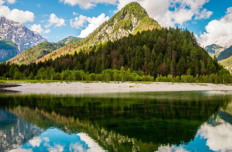 Lago Jasna, Parque nacional de Triglav, Eslovénia