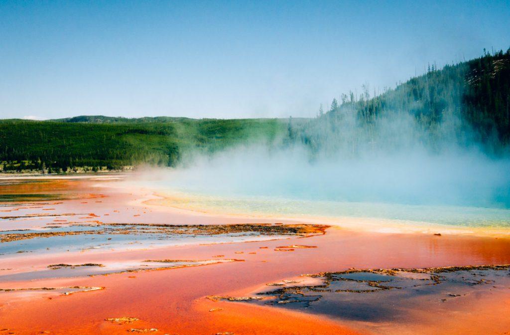 Parque Nacional de Yellowstone, nos Estados Unidos da América, Estados Unidos da América