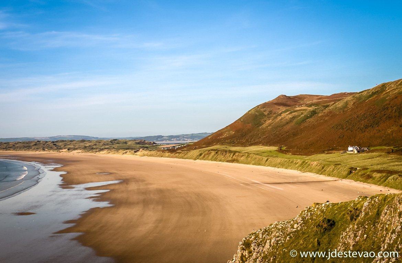Rhossili Bay, País de Gales, Reino Unido
