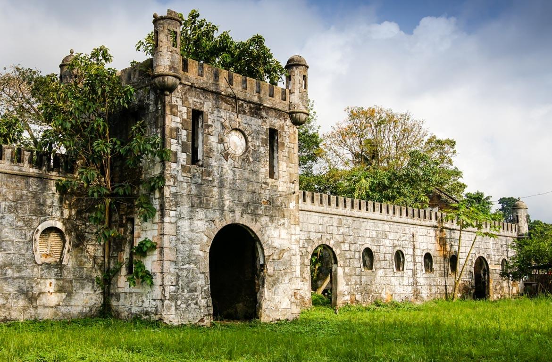 Antiga plantação, em São Tomé e Príncipe.