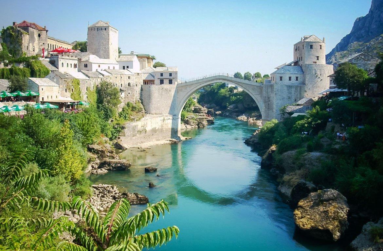 Stari Most, Mostar, Bósnia-Herzegovina
