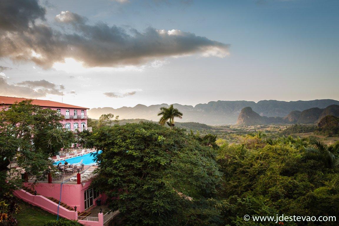 Pôr-do-sol em Viñales, Cuba