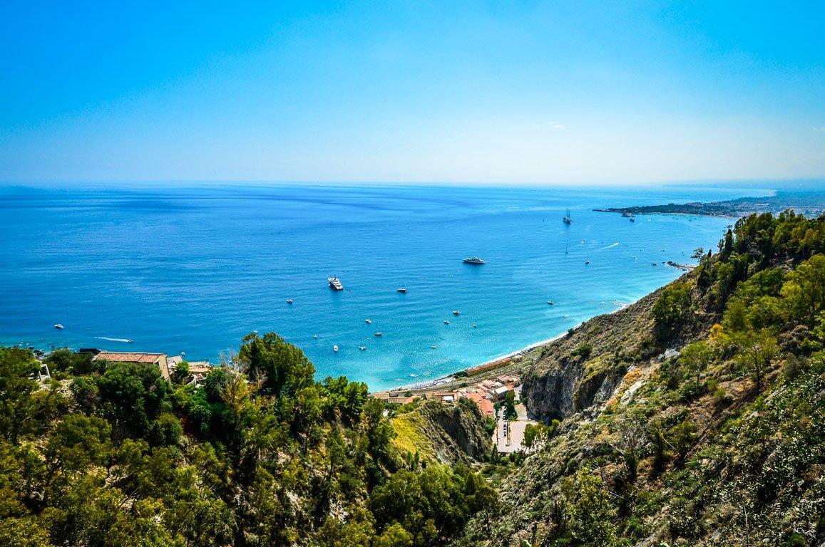 Praia na Sicília, Itália