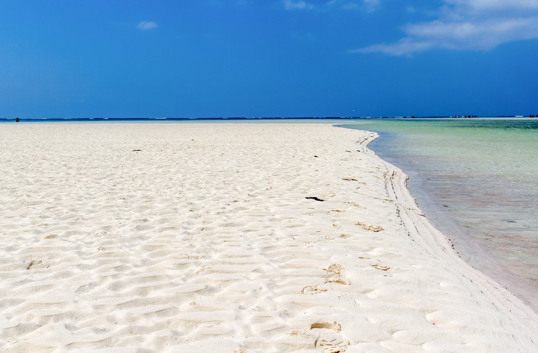 Praia malindi, Quénia
