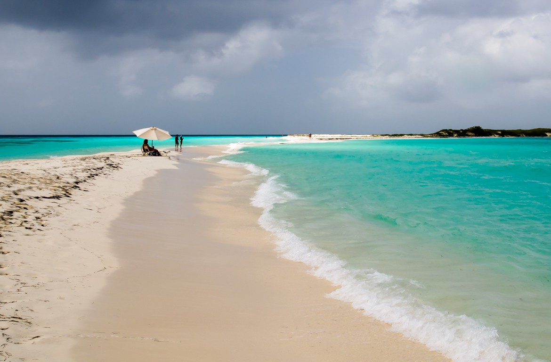 Praia arquipélago de Los Roques, na Venezuela