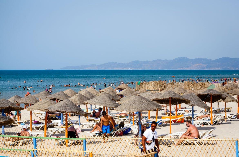 Resort de praia em Hammamet, na Tunísia