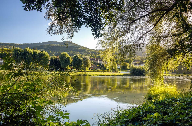 Paisagem do Vale do Loire, França