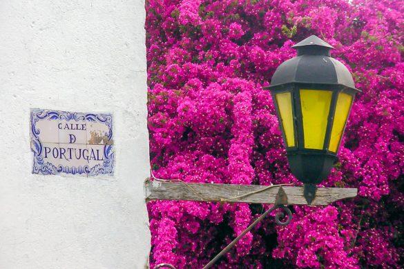 Calle Portugal em Colónia del Sacramento, Uruguai