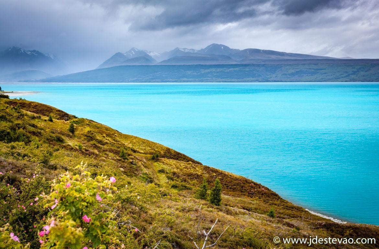 Lago Monte Cook, Nova Zelândia
