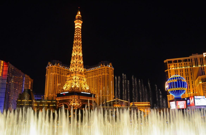 Torre Eiffel, Paris Las Vegas, Estados Unidos da América