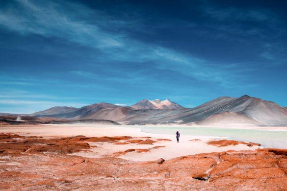 Laguna Colorada, Deserto do Atacama, no Chile