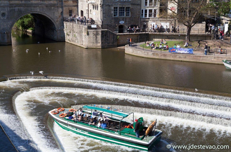 Barco em Bath, Inglaterra