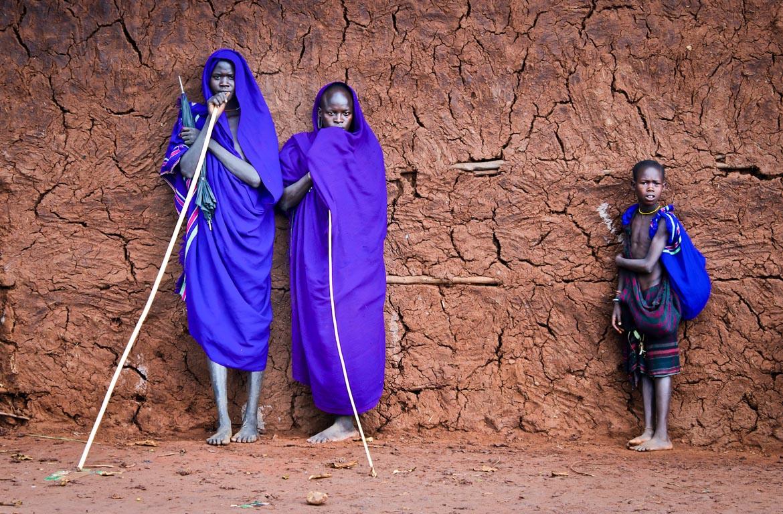 tribo suri, Vale do Omo, Etiópia