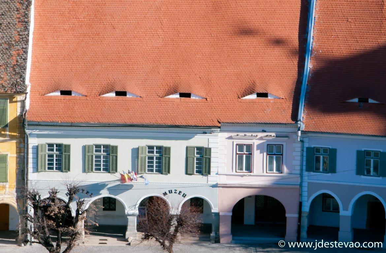 Telhados com olhos em Sibiu, Roménia