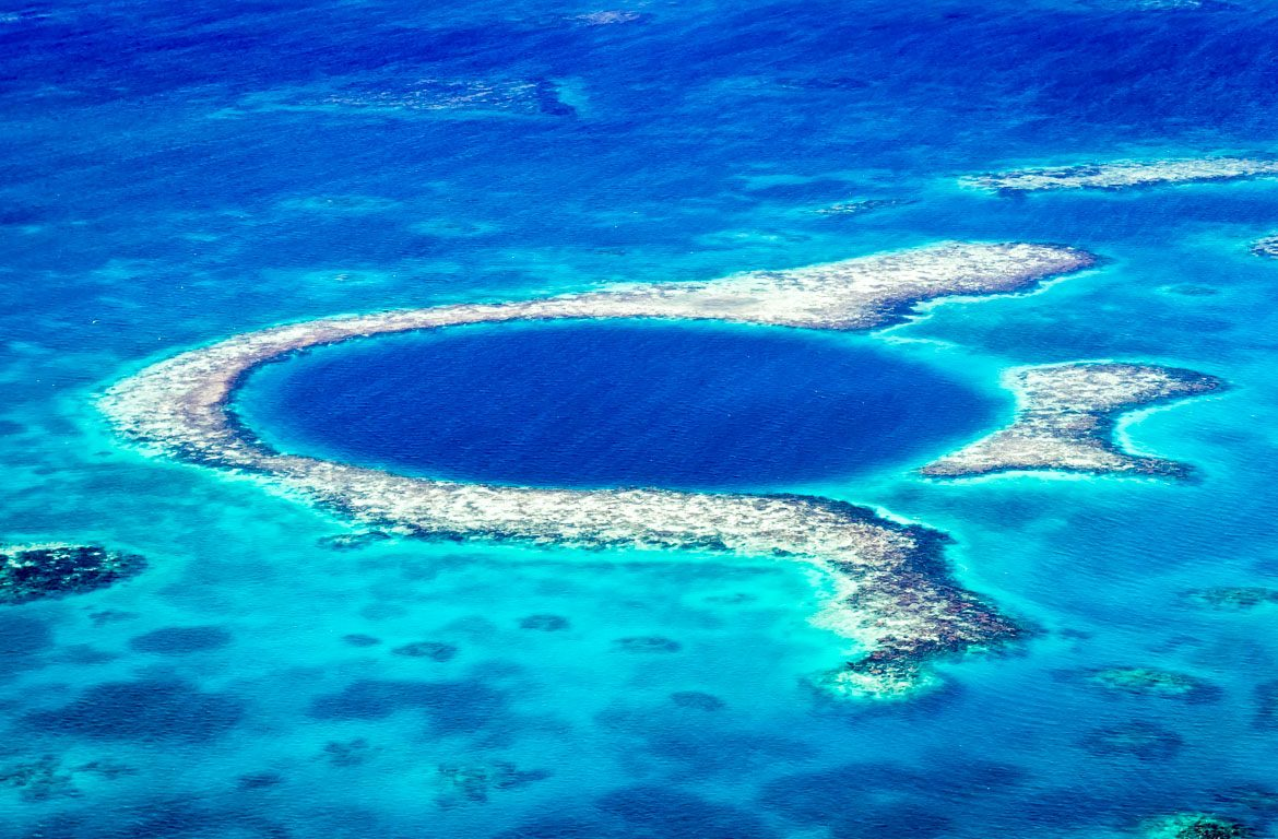 Great Blue Hole, Grande buraco azul, Belize