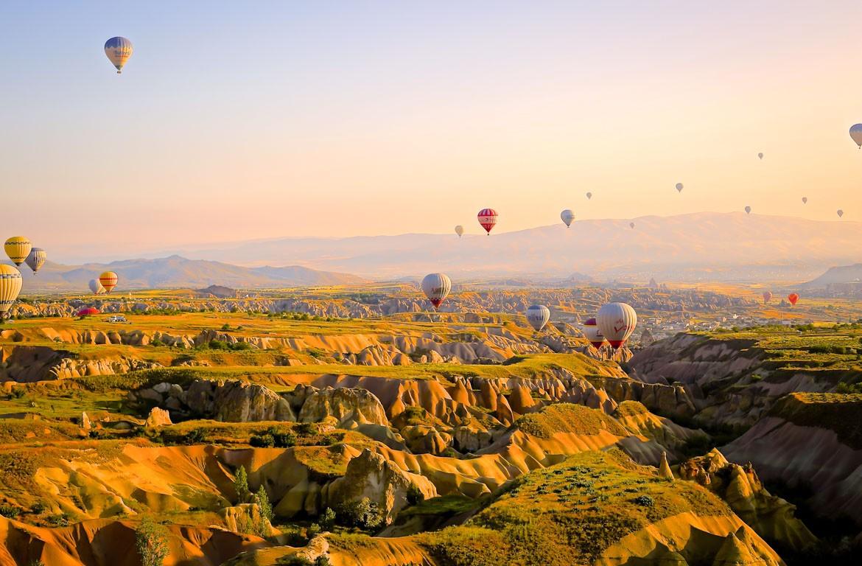 Voo de balão na Capadócia, Turquia